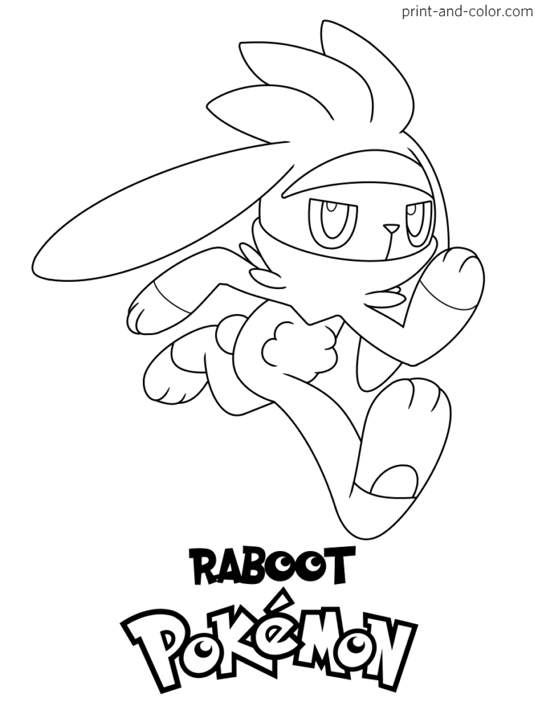 Pokemon Sword And Shield Coloring Pages Print And Color Com Pokemon Coloring Pages Coloring Pages Pokemon Coloring