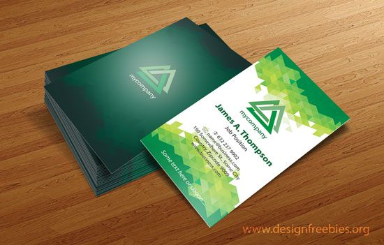 Free Vector Business Card Design Templates Illustrator Vector - Business card template illustrator