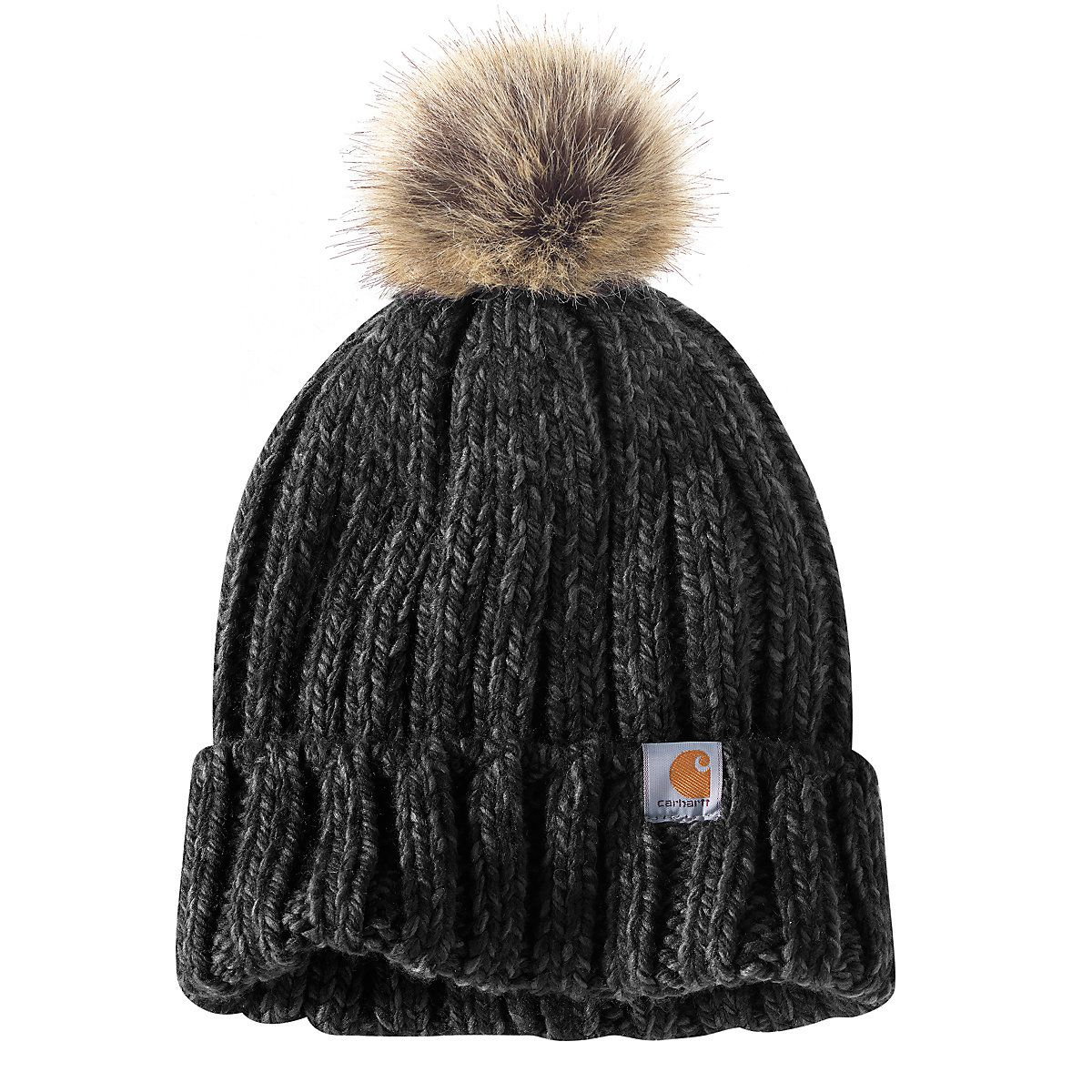 1f13c19b80c Shop the Millville Pom Hat for Women s at Carhartt.com for Women s Hats  that works as hard as you do.