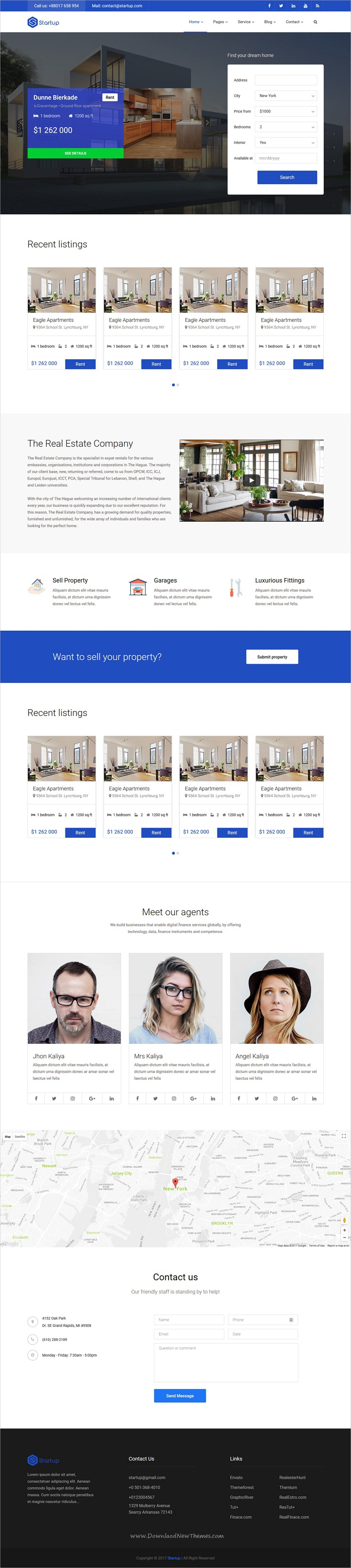 Startup - Multipurpose Startup Template   Startups and Business website