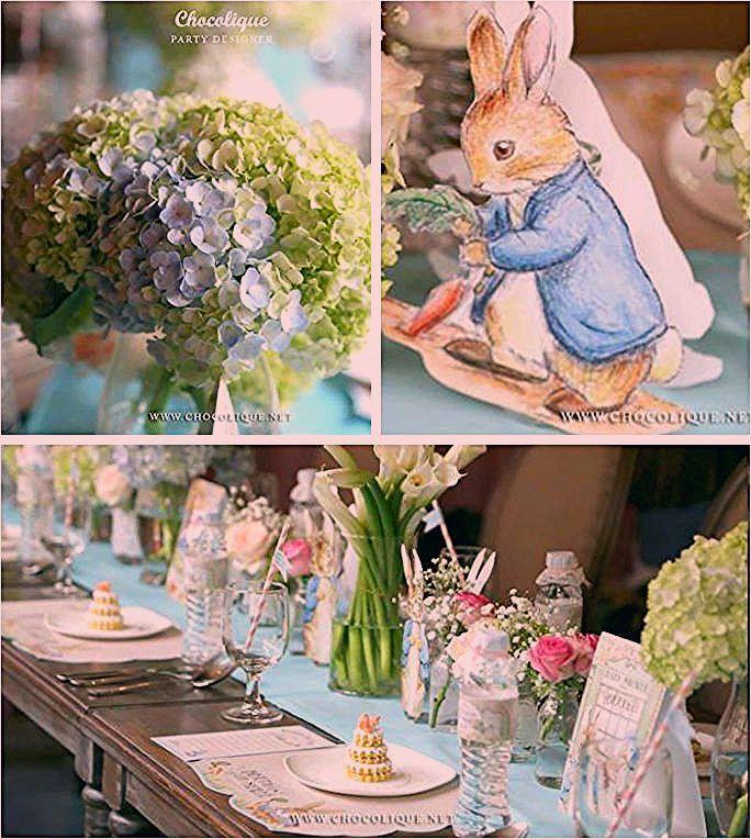 Photo of Peter Rabbit unter dem Motto Babyparty