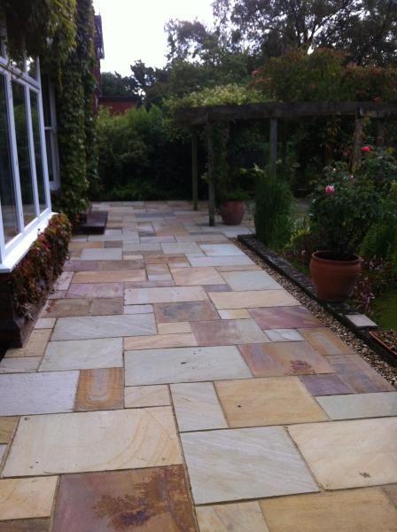 Garden Pathway Concrete Stepping Stones