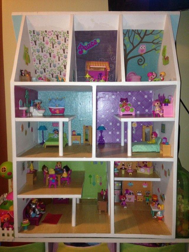 Kellyu0027s Handmade Lalaloopsy Dollhouse