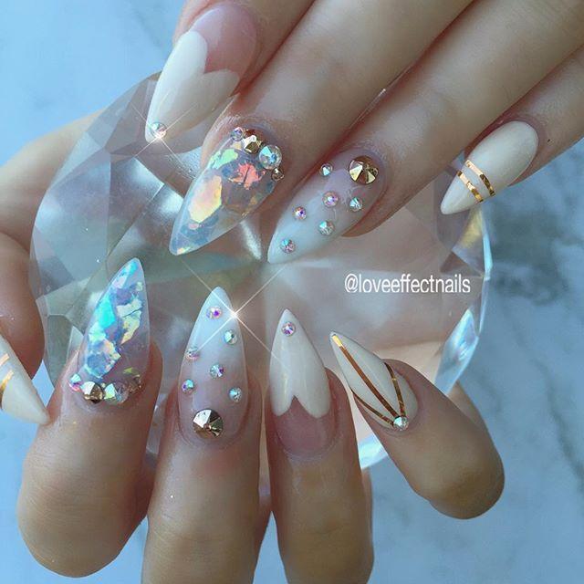 Uñas De Cristal Diseños De Uñas Uñas Cristal Arte De