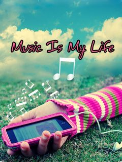Download Music My Life Mobile Wallpaper Is Compatible For Nokia