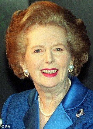 Margaret Thatcher: The Iron Lady.