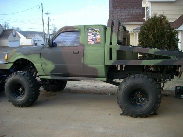 lifted ford ranger 1999fordrangerbodyliftkit - Ford Ranger 44 Lifted For Sale