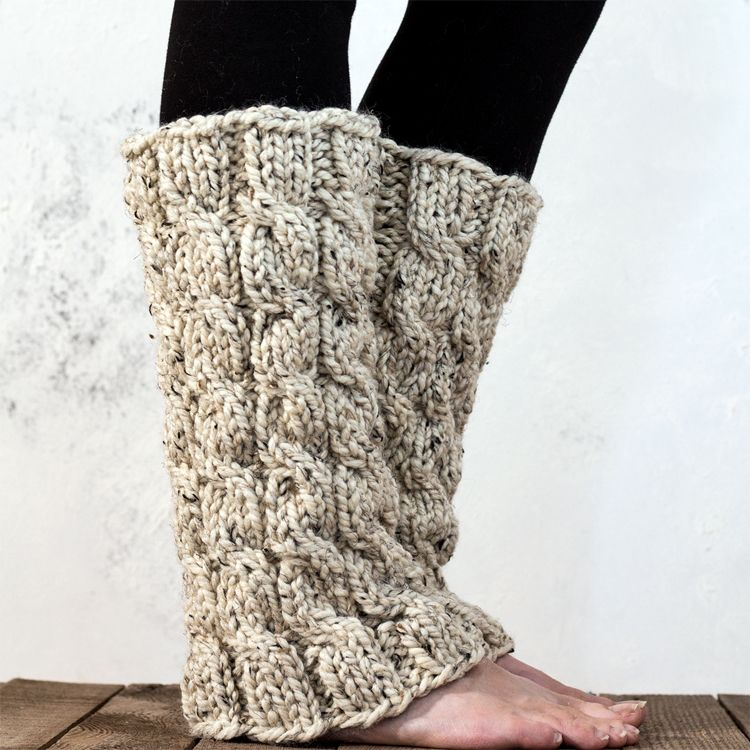 5dbf4f01a MAJESTY - Women s Leg Warmer Knitting Pattern