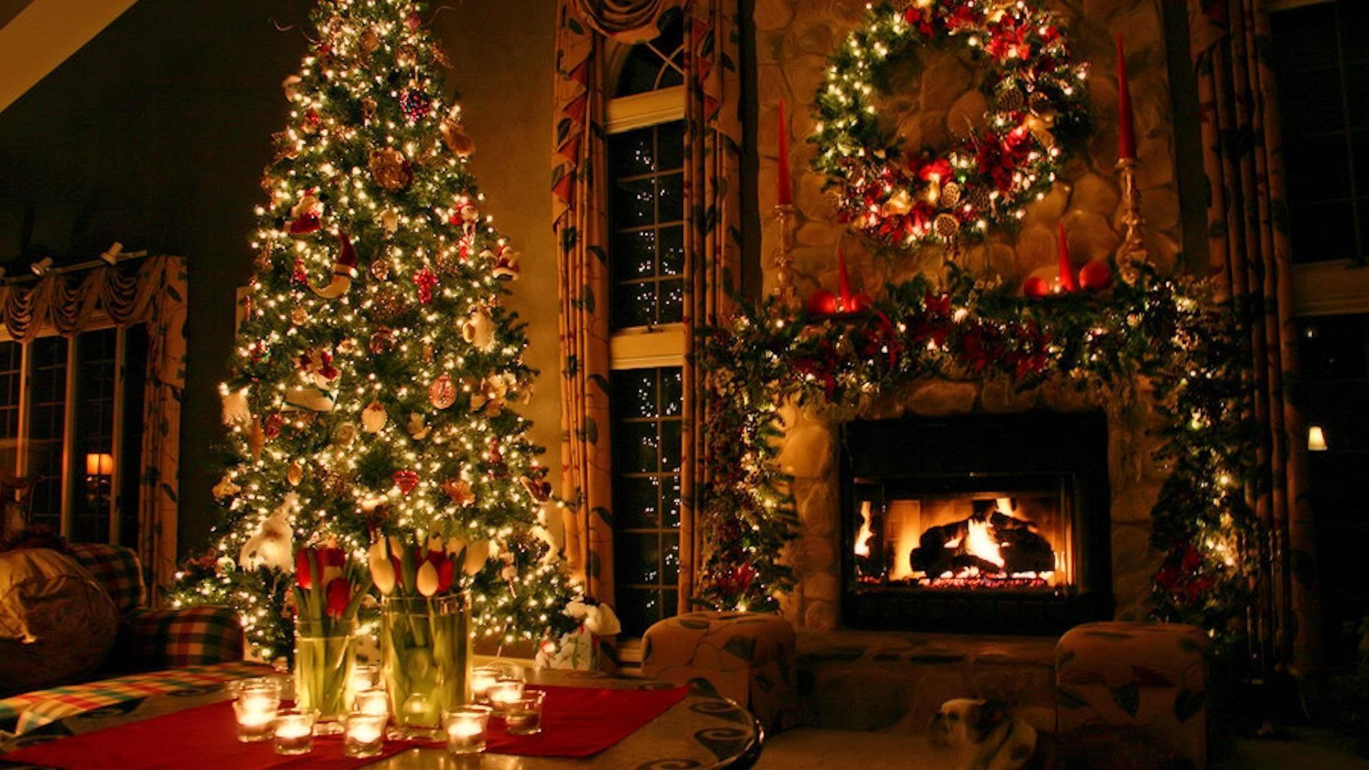 1920x1080 Christmas Pc Wallpaper Jnsrmgksb I Journal 1920x1080 1371 9 Kb Christmas Desktop Beautiful Christmas Trees Christmas Fireplace