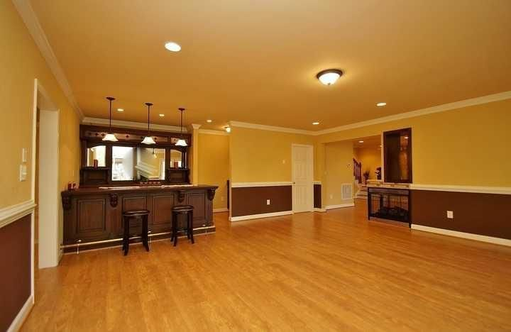 Photo of Lower level recreational room,  #level #Recreational #recreationalroombasements …