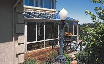 Aluminum Sunroom With Glass Roof Patio Room Glass Roof Sunroom