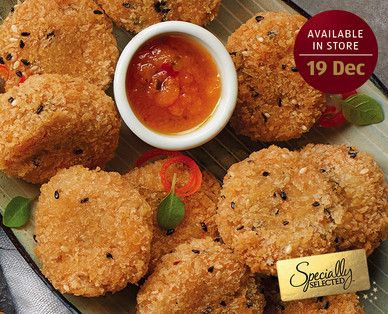 ALDI - Specially Selected Mini Thai Fishcakes with Sweet