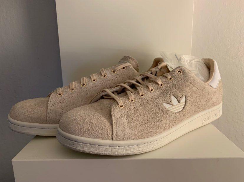 Adidas Men's Stan Smith Plush Suede