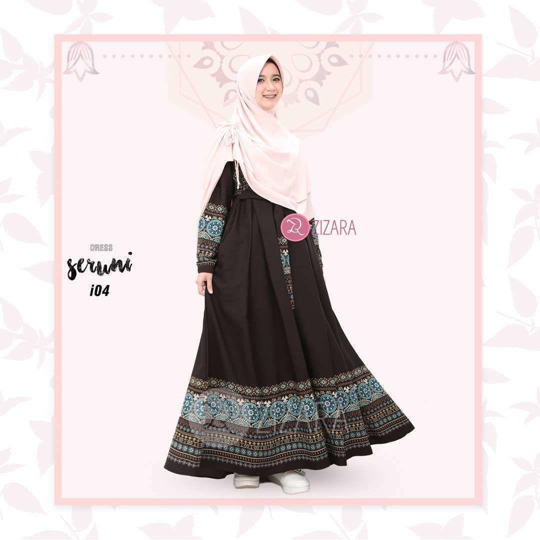 Gamis Zizara Seruni I 04 Baju Muslim Wanita Muslimah Kini Hadir Untukmu Yang Cantik