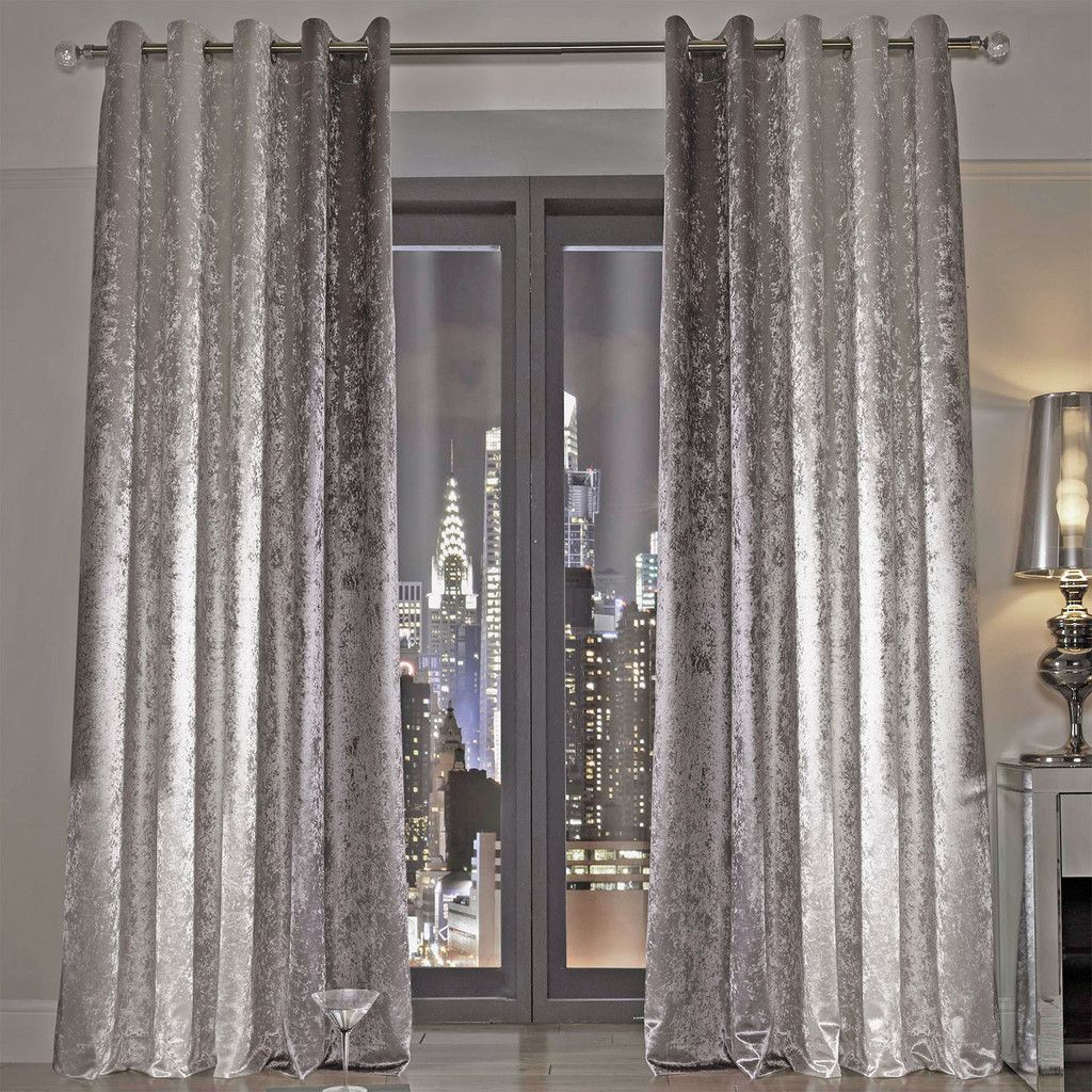 Kylie Minogue Natala Curtains Silver Cream