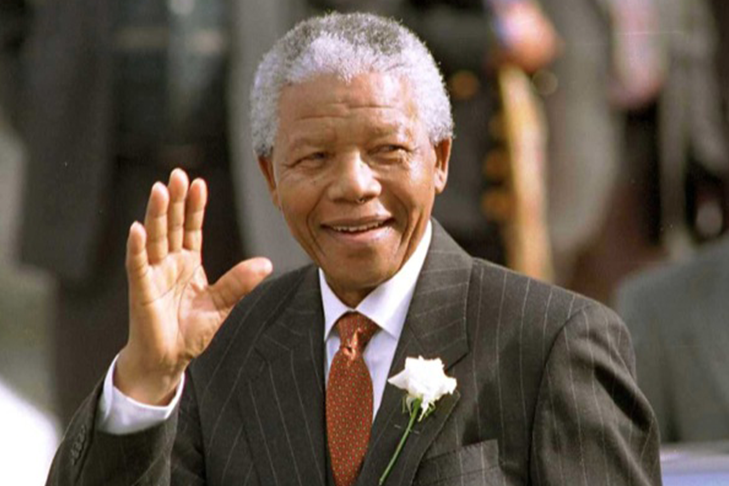 Nelson Mandela Was The First South African President Of A