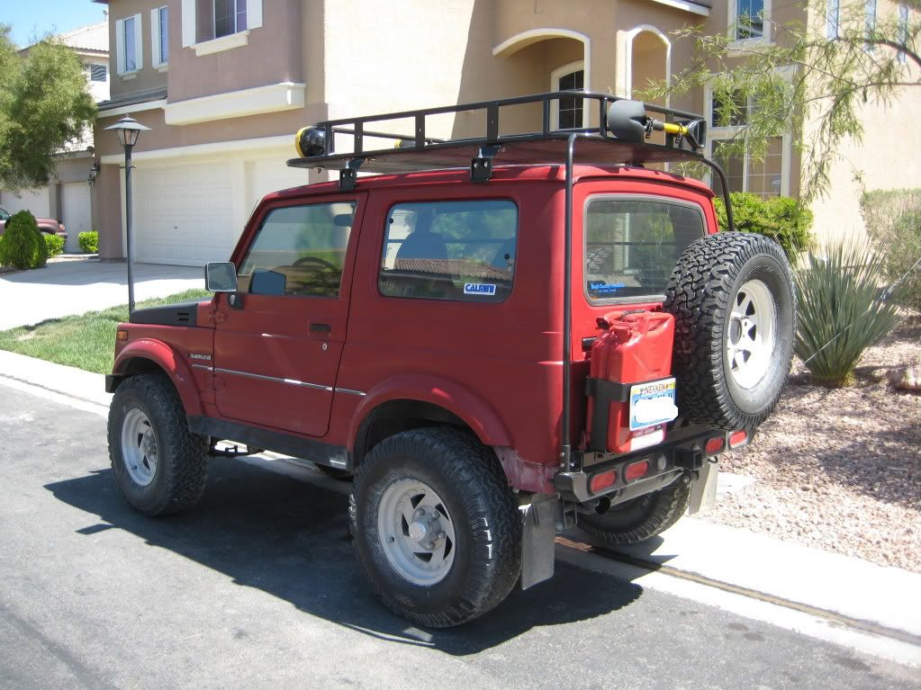 image result for suzuki samurai tin top roof rack suzuki. Black Bedroom Furniture Sets. Home Design Ideas