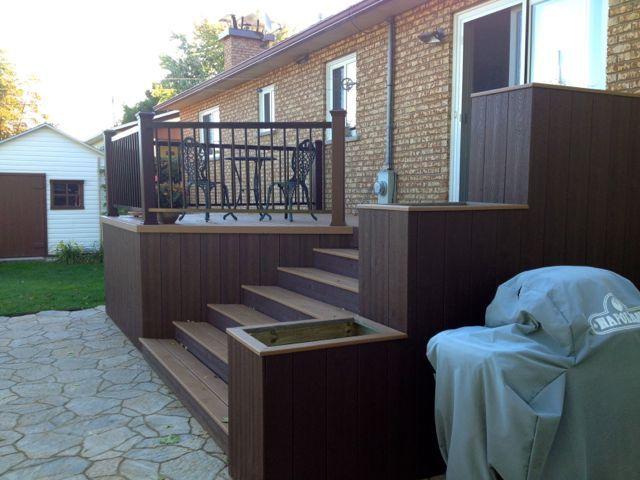 Patio Plus - Terrasse en bois - Terrasse sur toit Patio - terrasse sur pilotis metal