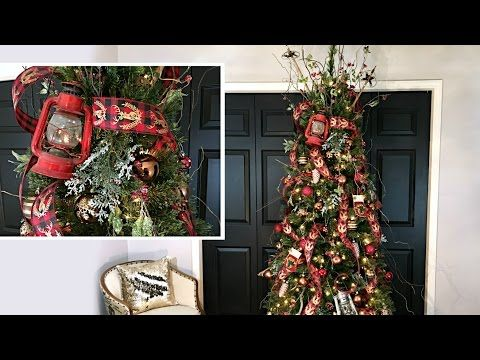 79 northwoods christmas tree cabin style christmas tree how to decorate a - How To Decorate A Christmas Tree Youtube