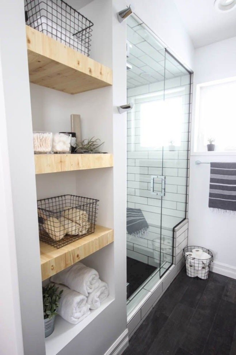 awesome 36 Amazing Small Bathroom Storage Ideas for 2018 | Apartment ...