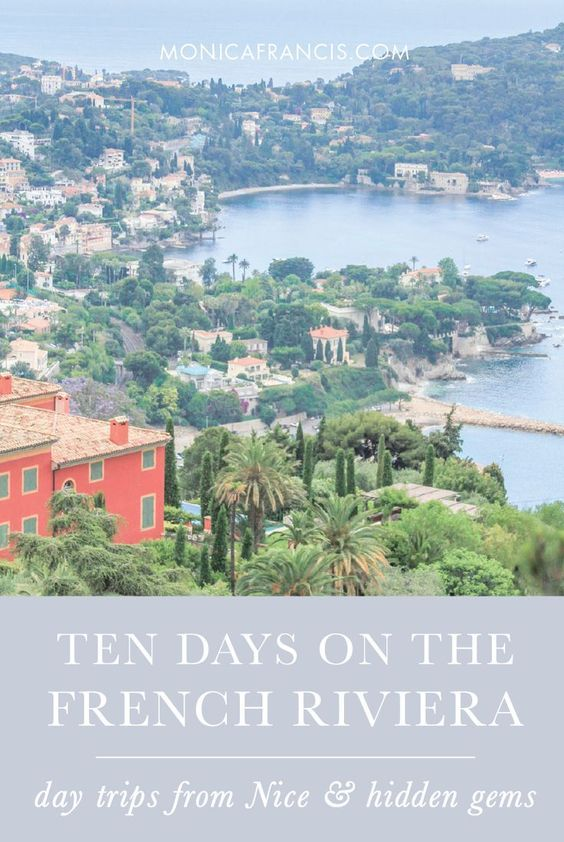 10 Days on the French Riviera French riviera Travel maps and Antibes