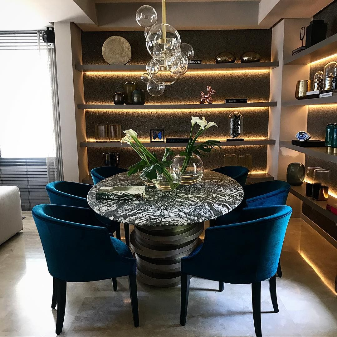 126 Custom Luxury Dining Room Interior Designs: Top Dutch Interior Designer Eric Kuster's Own Brand Lives