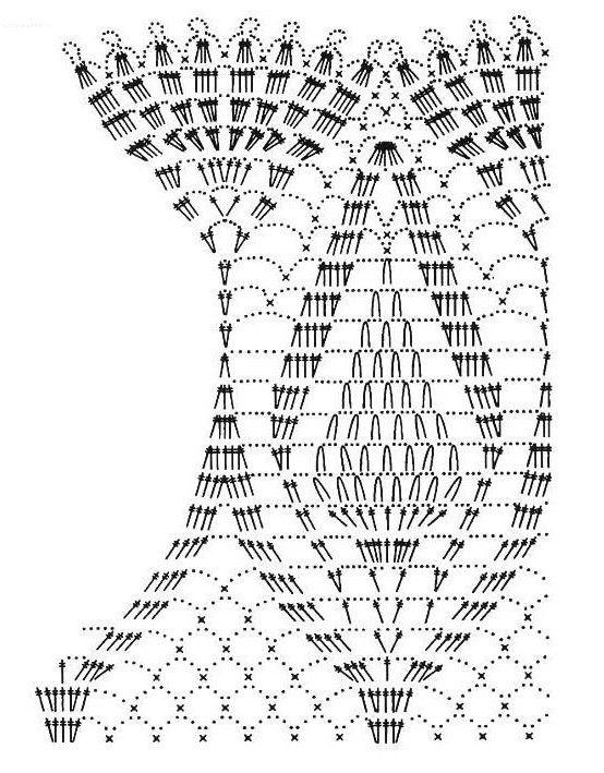 Hermosa capita en crochet con patrones | cosas a realizar ...