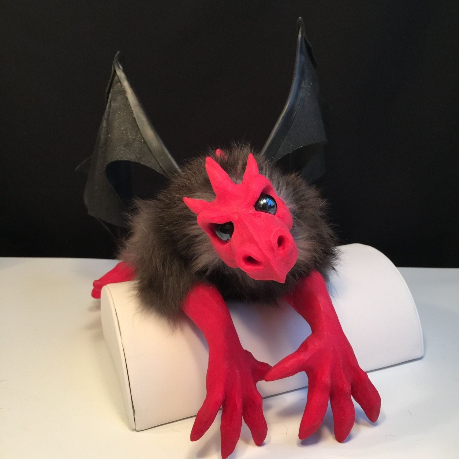 red dragon fantasy animal puppet pet mythical creature fantasy