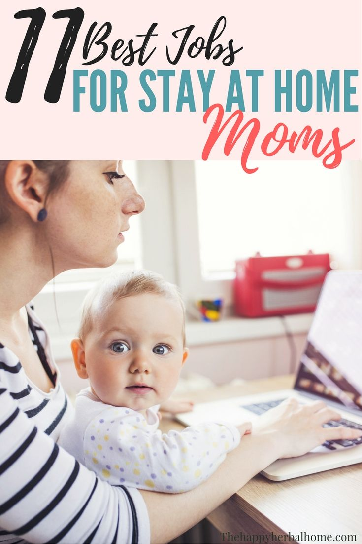 11 of the best work from home job ideas for moms blogging