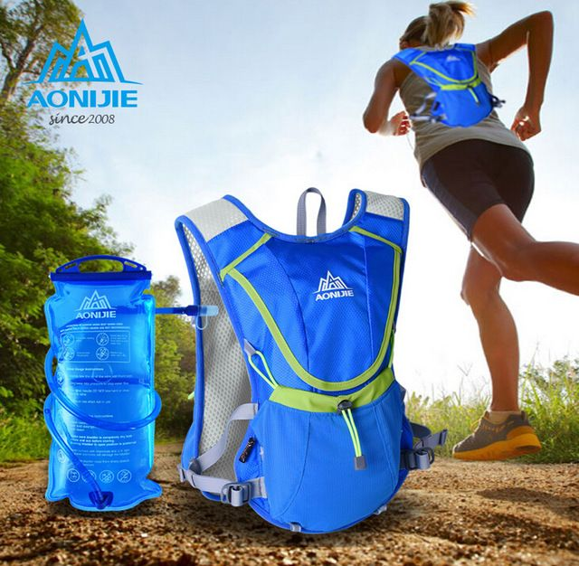 US $23.93 AONIJIE Running Backpack Kettle Package Female Marathon ...
