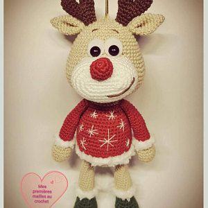 PATTERN Crochet Сhristmas Gnome #crochetgiraffepattern