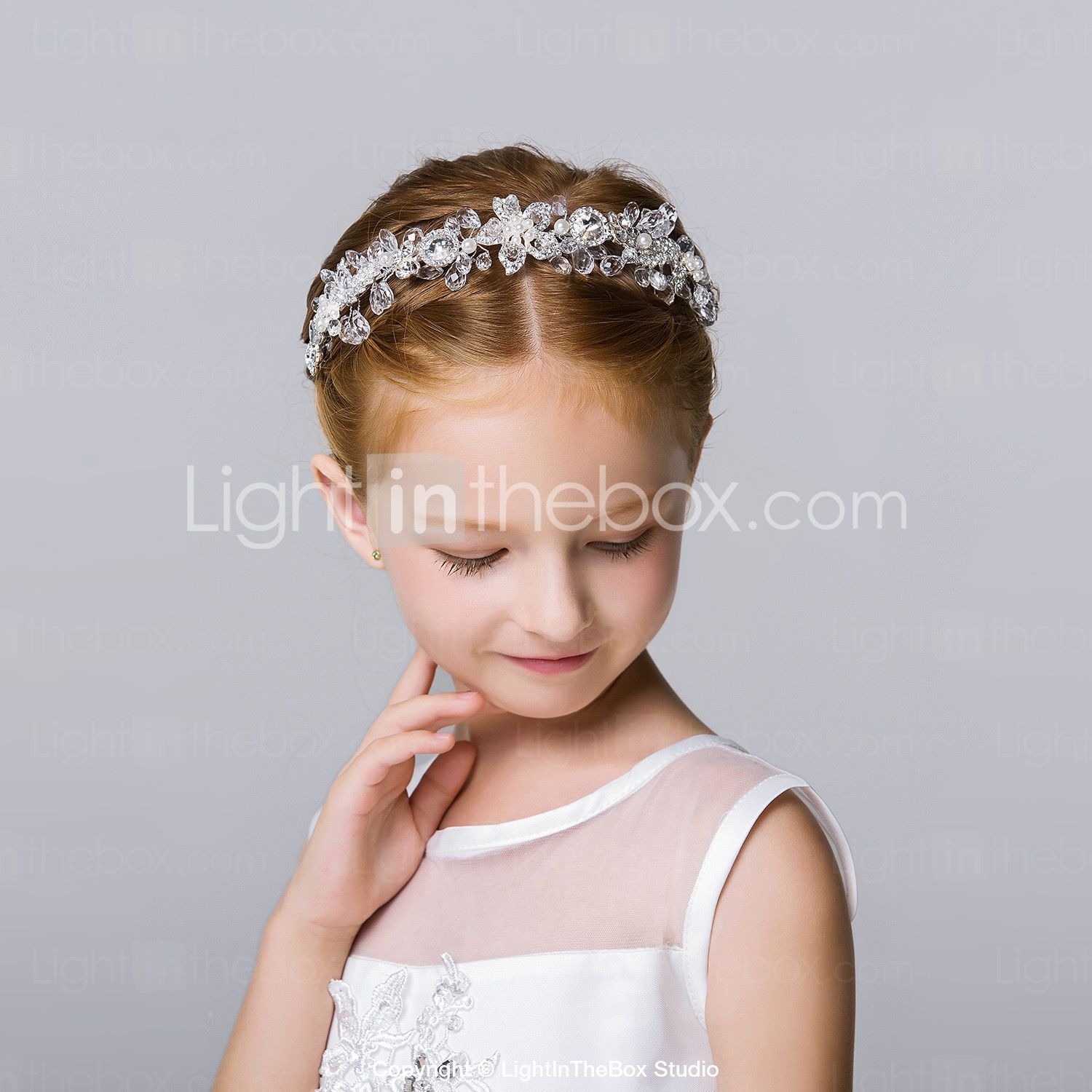 flower girl's alloy headpiece-wedding special occasion casual