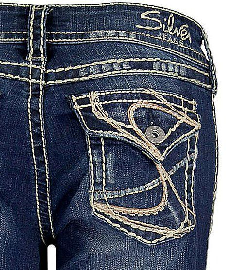 Details about SILVER JEANS Cheap Sale Flap Mid Suki Surplus Flap ...