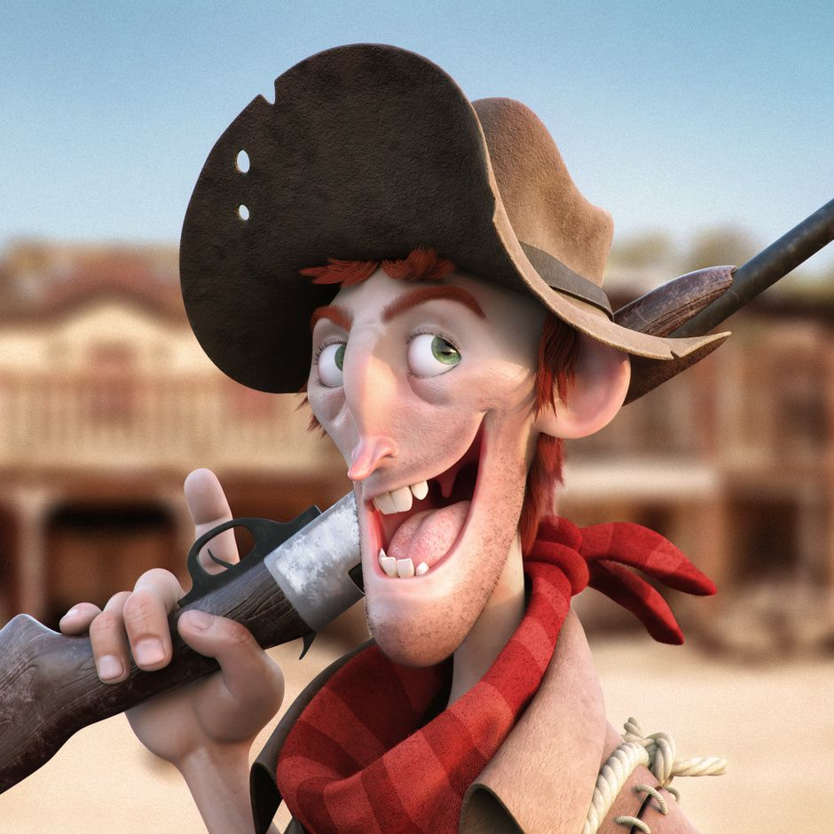 989ef03a895 Cowboy by Mauricio Machado | Cartoon | 3D | CGSociety | Character ...