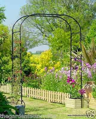 Gardman Extra Wide Metal Garden Arch   Rose Arch Plant Flower Support 07725  | Other Structures
