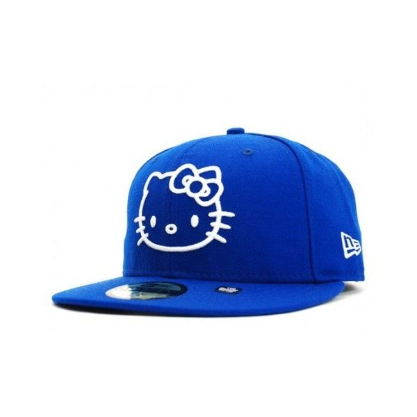 cd3db128f93 Sanrio x New Era Hello Kitty cap ❤ liked on Polyvore featuring accessories