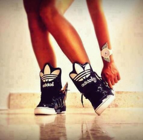 d4351ee87d7b2 Adidas Original High Tops Sneakers. Swag. Dope. Hip Hop Fashion. Hip Hop  Style