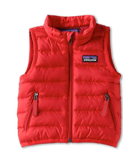 67eec434a Patagonia Kids Baby Down Sweater Vest (Infant/Toddler) Red Delicious -  Zappos.com Free Shipping BOTH Ways