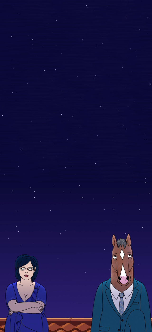 Formatted This Into An Hd Lock Screen For Anyone Who Might Want To Use It Originally Formatted For Iphone X But I D Bojack Horseman Horseman Cute Wallpapers