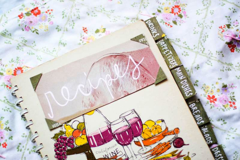 20 diy gift ideas a beautiful mess diy craft ideas pinterest cute recipe book made from a vintage cookbook from a beautiful mess solutioingenieria Choice Image