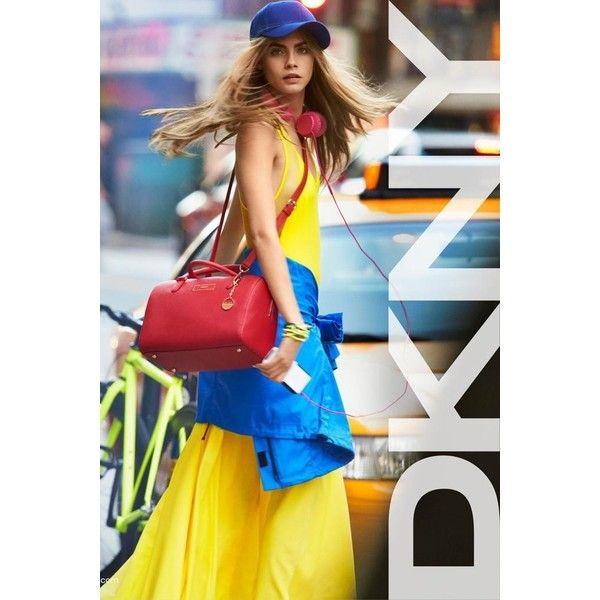 DKNY and DKNY Jeans S/S 13 featuring polyvore models backgrounds people pics bg