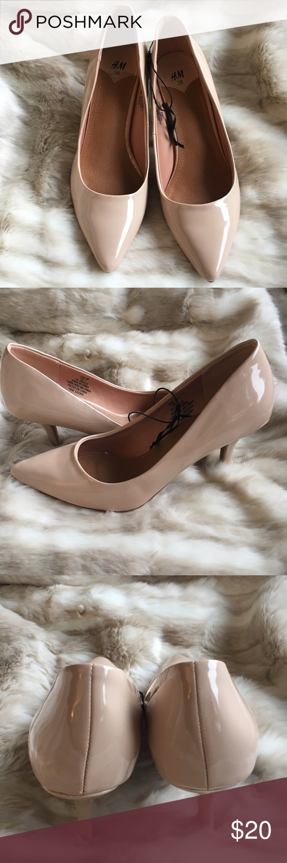 8b1eccf5ec H&M Nude Pumps NWOT - 3 inch heel in a neutral color that goes with  everything. H&M Shoes Heels
