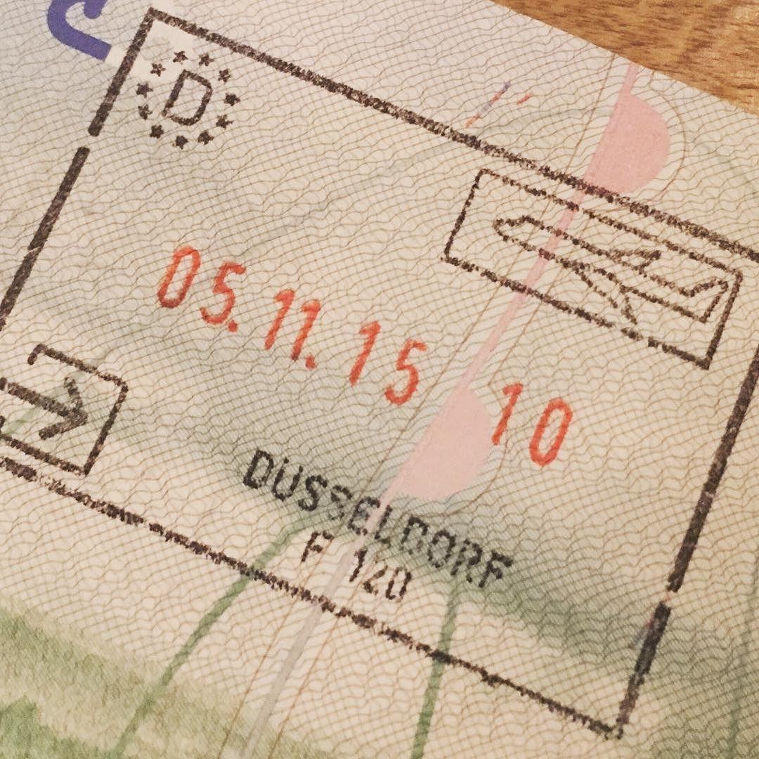 Wilkommen nach Deutschland! Again. Düsseldorf flughafen