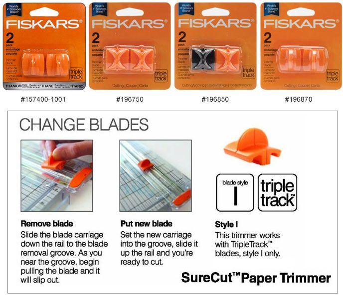 Fiskars Paper Trimmer Blade Refill