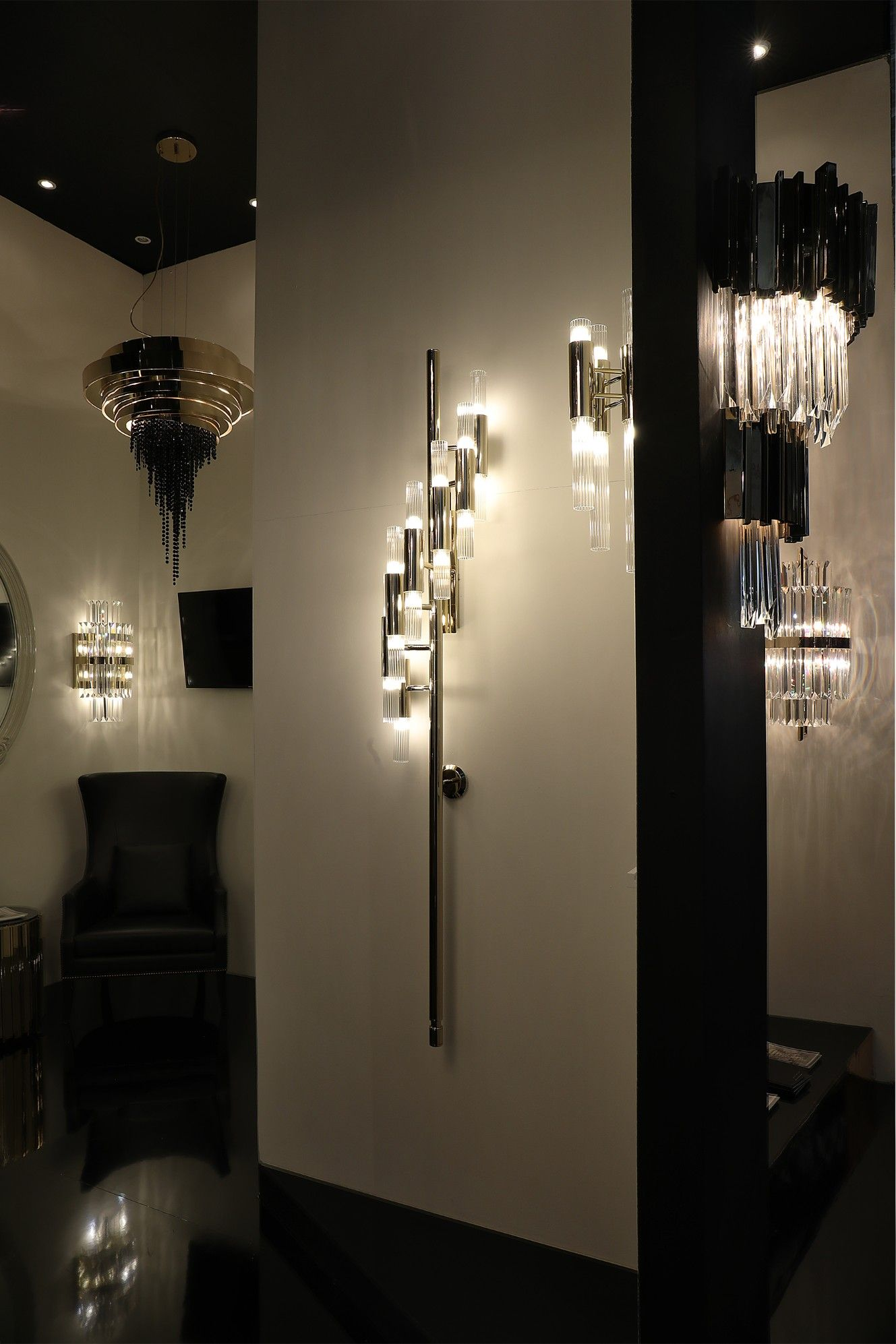 Waterfall Torch Wall Lamp Is The Perfect Solution For A Luxurious Hotel  Lobby! See How. Best Interior DesignModern ...
