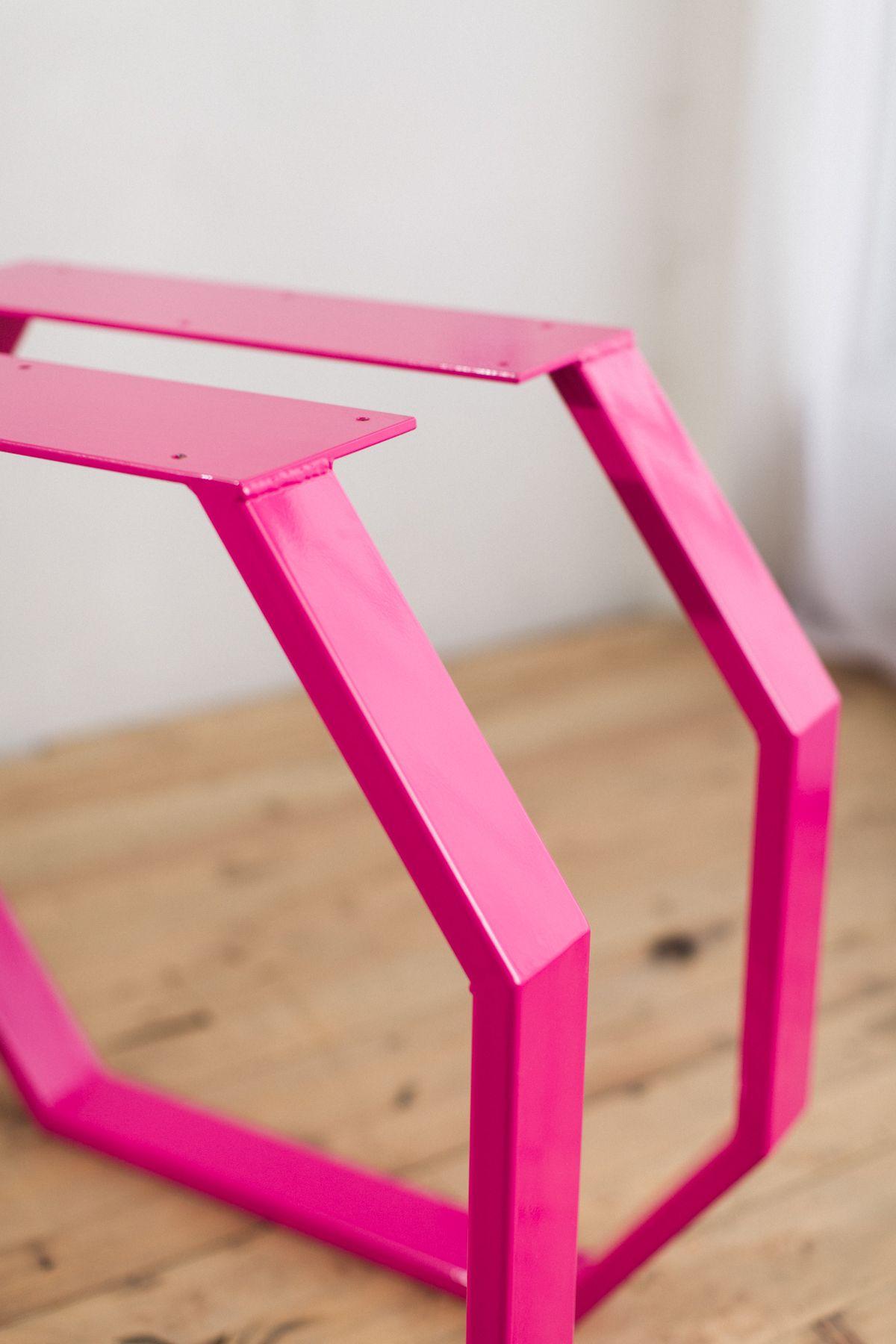Steel Geo Table Legs Table legs, Dining table legs