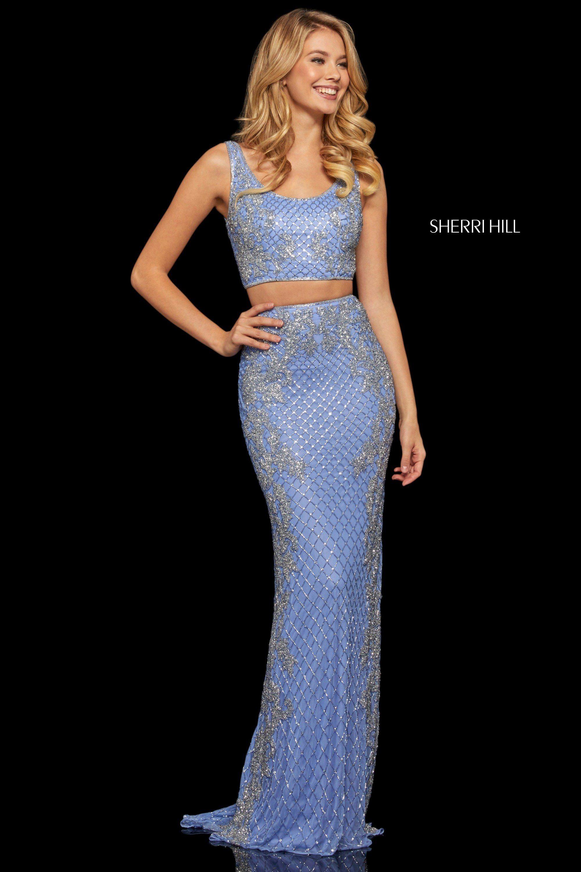 Sherri Hill 52686 Dress Top Prom Dresses Sherri Hill Dresses Crop Top Dress Prom [ 3000 x 2000 Pixel ]