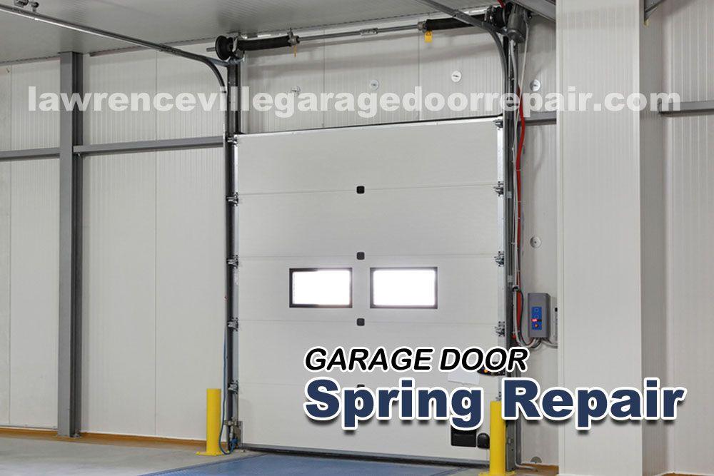 Potential Causes When Your Garage Door Won T Stay Open Garage Door Springs Garage Door Spring Repair Garage Doors