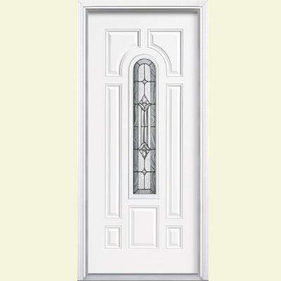 Masonite 36 In X 80 In Providence Center Arch Ultra Pure White