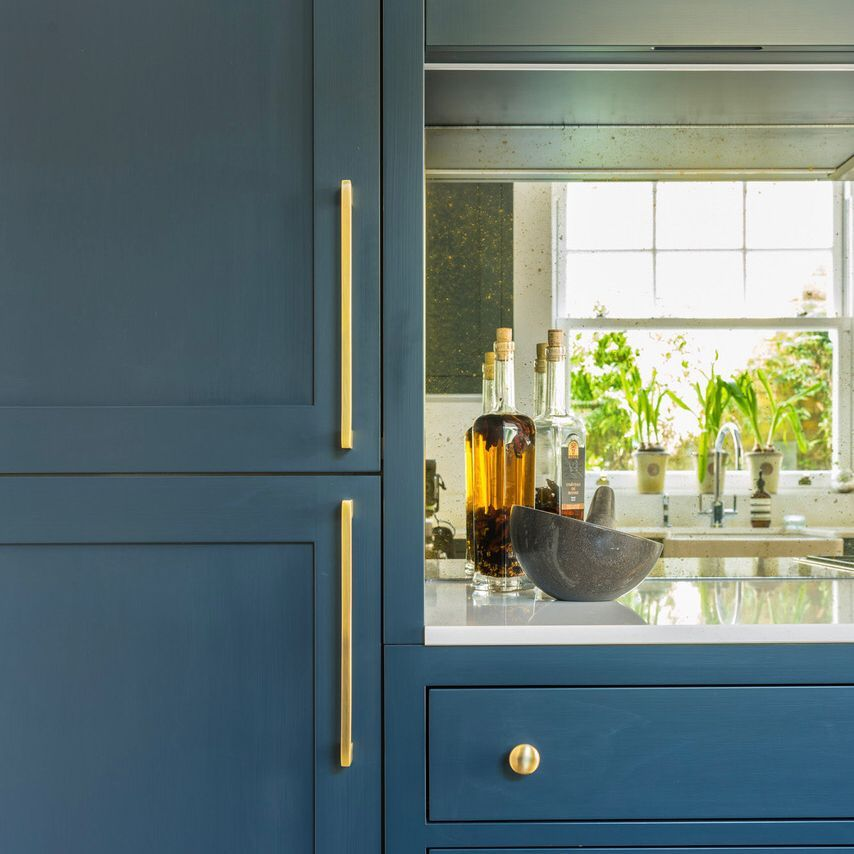 Vintage with Gold Backing Splashback for @williams_ridout ...